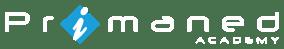 Primaned Academy_White - Master Logo